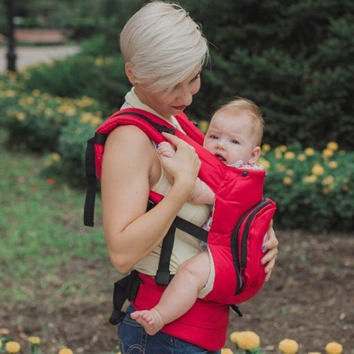 эрго рюкзак - слинг рюкзак Little Fox цветочная поляна